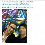 仙台で逃走中のドイツ人「ツイッター」で偶然記念撮影!完全に一致と話題に