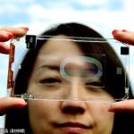 これはスマートだ!台湾の企業が透明のスマホを開発!実用化へ