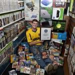 海外ゲーマー10607本のゲームソフト保有でギネス記録認定!
