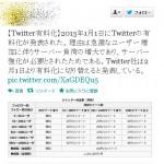 年明け早々恒例の『Twitter有料化デマ』が拡散し多くのユーザ釣られる