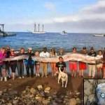 地震の予兆か?カリフォルニアで5.4メートルのリュウグウノツカイが打ち上げられる