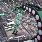 地上約300メートルにある、本当に怖い絶叫マシン
