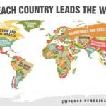 バカ世界地図海外版!世界から見日本はた「〇〇な国?」