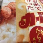 凄い臭いのする「お米で作ったカール 焼きたらこ風味」試食レビュー