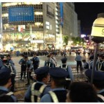 日本代表W杯出場決定!警視庁の驚異的なディフェンス力で渋谷封鎖成功