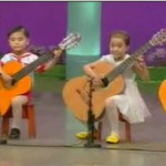 まるでディズニーランド『北朝鮮』の子供のギター演奏が物議