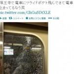 JR王寺で『フライドポテト』が電車を止める事故が発生!と話題に