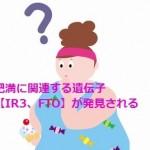 肥満に関連する遺伝子【IR3、FTO】が発見される