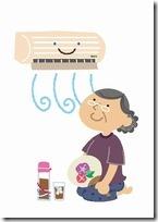 熱中症に注意!電気代節約してエアコンを使用する裏ワザ thumb38