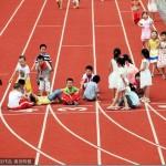 中国のとある小学校の運動場があまりに「クリエイティブ」過ぎると話題に