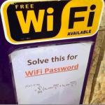 マサチューセッツにある喫茶店のWiFiのパスワードがあまりにも敷居が高すぎると話題に