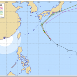 【2014最新】台風18号!米軍予報、気象庁予想進路は?名古屋に上陸の可能性が
