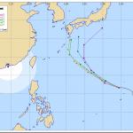 【2014最新】 台風18号!米軍予報、気象庁予想進路は?各国進路予報あり!