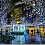 クリスマスイルミネーションが綺麗な全国の駅前はどこ?