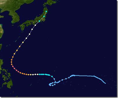 【2014】 台風22号のたまご発生!米軍(JTWC)予報、気象庁予想進路は?