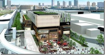豊洲新市場の千客万来施設の場所(地図)はココ!オープン時期はいつ?