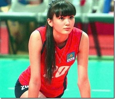 女子バレーカザフスタン代表サビーナ選手の股下は120cm?身長は? 120cm thumb