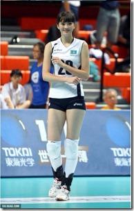 女子バレーカザフスタン代表サビーナ選手の股下は120cm?身長は?2