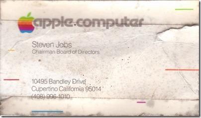 1979年頃のスティーブジョブズの名刺があまりに「衝撃的」過ぎると話題に 2293087a s thumb