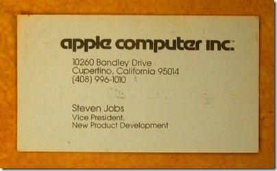 1979年頃のスティーブジョブズの名刺があまりに「衝撃的」過ぎると話題に 4c0d7274 thumb