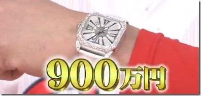 マエケンこと前田健太の時計は900万?ジョブチューンで紹介! 900 thumb