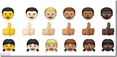 Appleの新しい絵文字「黄色人種」があまりに黄色過ぎると中国人大激怒 78ecdc6a thumb
