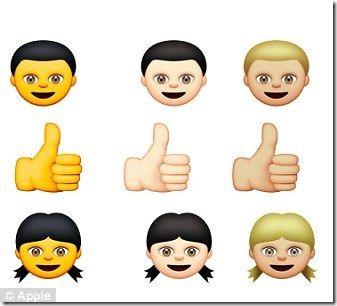 Appleの新しい絵文字「黄色人種」があまりに黄色過ぎると中国人大激怒 82e921d2 thumb