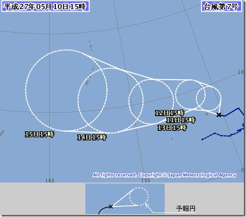 【2015】台風7号のたまご発生!米軍(JTWC)予報、気象庁予想進路は? 1507 00 thumb